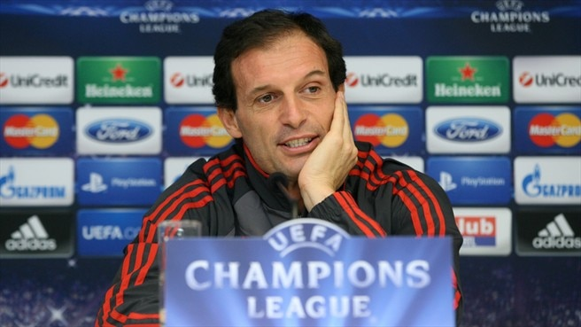 Conferenza stampa: Massimiliano Allegri (Milan)