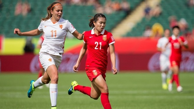 Lieke Martens (Netherlands) & Wang Lisi (China)