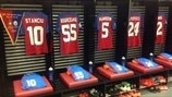 Steaua dressing room