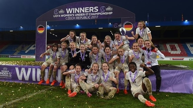 Guarda le sei vittorie record in finale della Germania a #WU17EURO