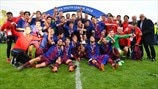 Highlights finale UEFA Youth League