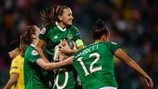 Republic of Ireland celebrate