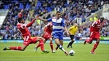Nick Blackman (Reading FC) & Armand Traore (Queens Park Rangers FC)