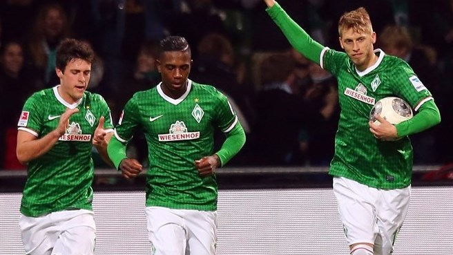 Il Werder piega in extremis l'Hannover