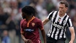 Gervinho (AS Roma) & Stephan Lichtsteiner (Juventus)