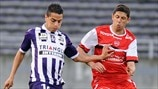 Wissam Ben Yedder (Toulouse FC) & Maor Melikson (Valenciennes FC)