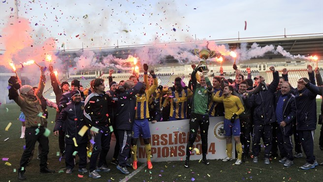 Ventspils campione in Lettonia