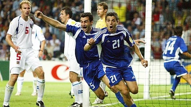 Risultati immagini per grecia europei 2004 contro repubblica ceca