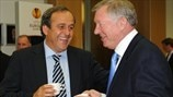 Michel Platini: grazie, Sir Alex