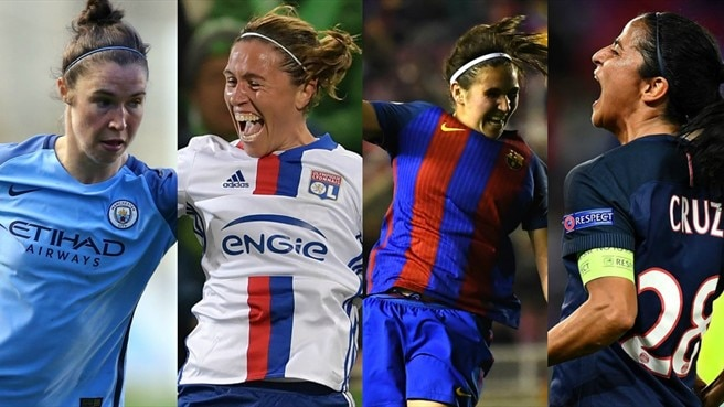 Women's Champions League: semifinali al via