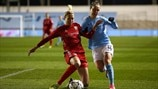 Janni Arnth (Linköping) & Jane Ross (Manchester City)
