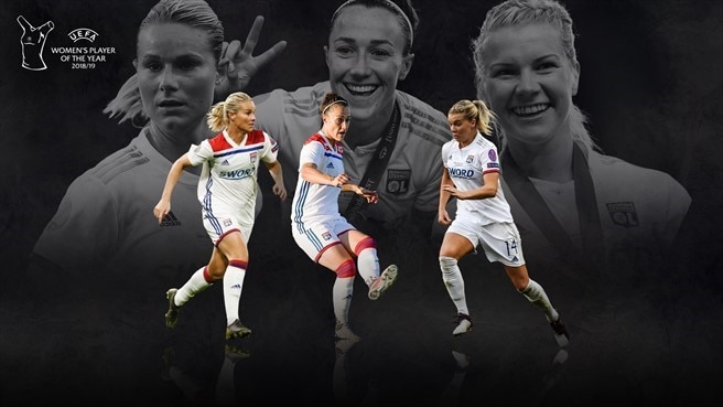Candidate Women's Player of the Year: Bronze, Hegerberg, Henry
