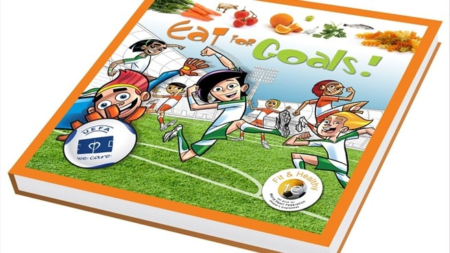 Eat for Goals! edizione in brossura