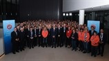 Women's EURO coaches' conference - group photo