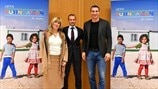 Klitschko and Markovic join UEFA Foundation for Children